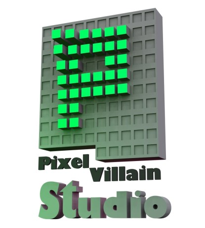 Pixel Villain Studio Logo Final